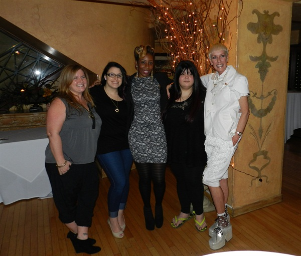 <p>NAILS editor Hannah Lee (left) and CND's Jan Arnold (right) were the head judges for this year's NAILS Next Top Nail Artist competition. They were excited to bring the Top 3 (Danielle Costantino, Lavette Cephus, and Lexi Martone) to ISSE Long Beach to compete for the title.</p>