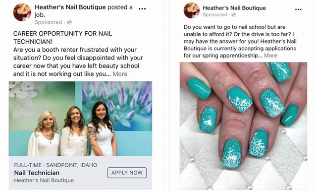 <p>Heather Lewis first tried a Facebook Jobs posting, but found she had better luck with an ad that invited applicants to email her directly.</p>