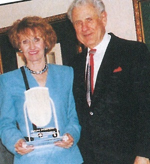 Dottie and Ken Reiner of Kayline Enterprises, one of NAILS Magazine original advertisers.