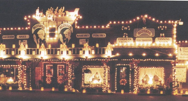 <p>Mary's Place has won holiday decorating awards six years running. People drive from other counties just to see displays like these Christmas lights.</p>