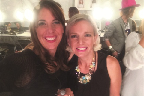 <p>Amanda Fontanarrosa was an awesome mentor. She's done more than 20 Fashion Weeks around the world.</p>