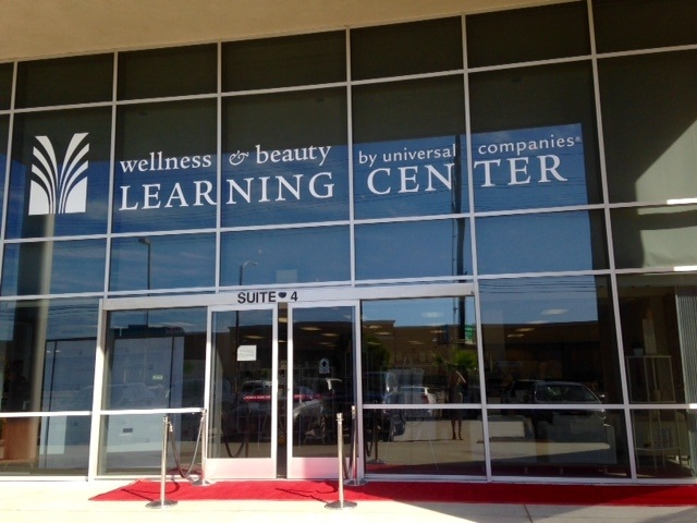 Universal Companies' new 6,700 sq. ft. Wellness & Beauty Learning Center in Torrance, Calif.