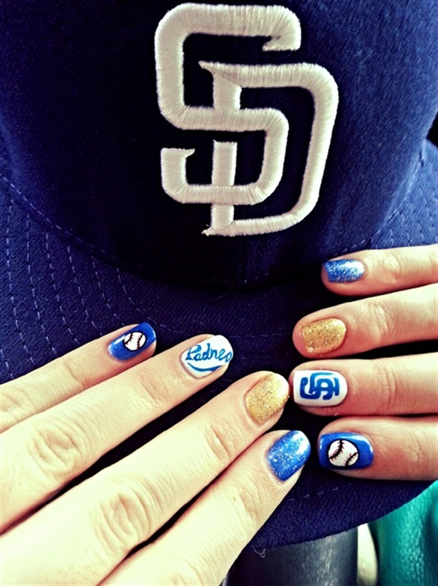 15 Major League Baseball Nails for Opening Day - - NAILS Magazine