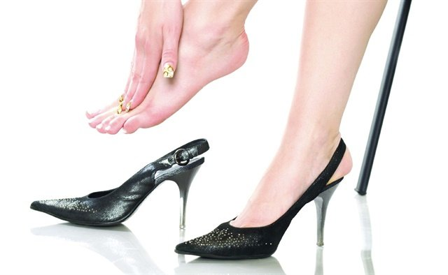 04303691e72 ... and even neuromas — the list of problems caused by high heels is  extensive. The solution is so simple it s almost laughable  Wear sensible  shoes.