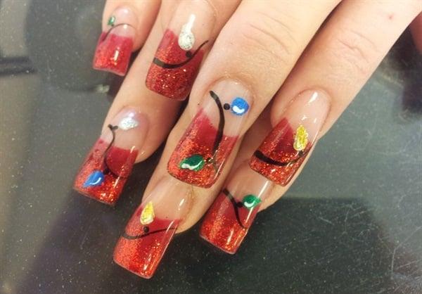 """<p>Nails by <a href=""""http://nailartgallery.nailsmag.com/perfect10nails"""">Perfect10nails</a></p>"""