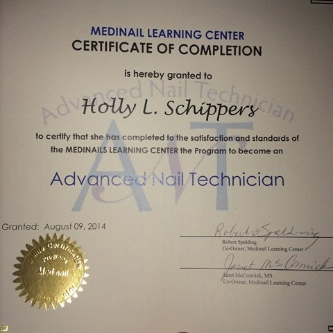 Medinail Advanced Nail Technician Course Nails Magazine