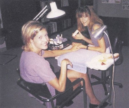 "<p>""About five years ago the booming service was fiberglass,"" says Melinda Nelson (right). ""Now it's pink and white acrylic nails. To remain successful, you have to do what the market dictates.""</p>"