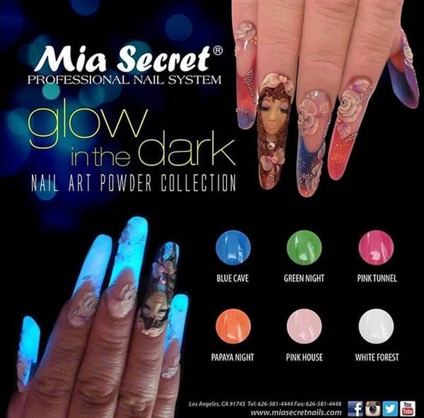 Glow in the Dark Acrylics - - NAILS Magazine