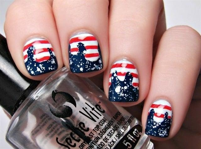 "<p>Via <a href=""http://nailartgallery.nailsmag.com/mistress_ashley/photo/353774/patriotic-drips"">@Mistress_Ashley</a></p>"