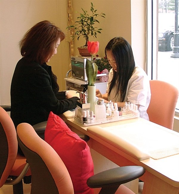 <p>Kim opened his Garden City spa in 2005. He designed and decorated the modern but comfortable space himself.</p>