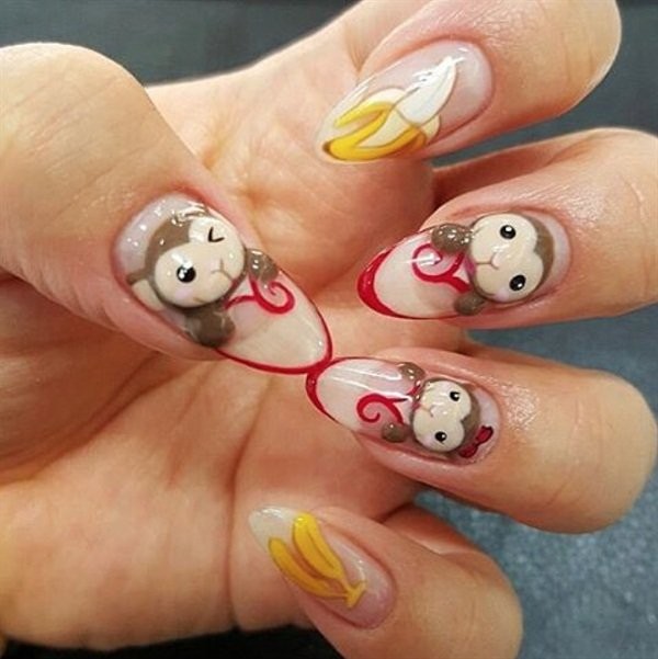 Via @elle_nailshop, Korea