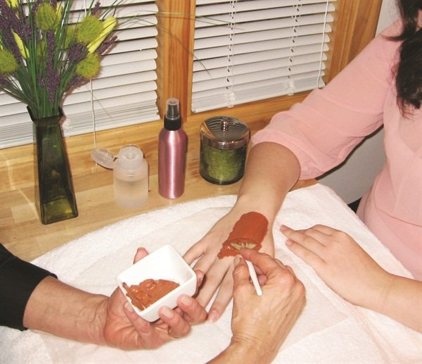 <p>Chardonnay Silk Spa Manicure photo courtesy of LeVonne de Spa, Waterford, Mich.</p>