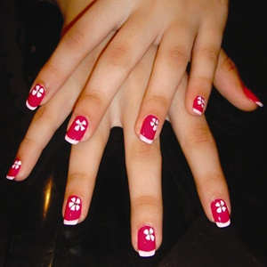Schèrézaad Panthaki has been doing nails for 12 years and enjoys creating subtle nail art designs that are noticeable without being extravagant.
