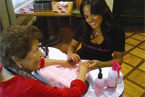 """For Nia Cooper, working in senior living communities came later in her career, after she had done mobile volunteer work. """"Business has been amazing,"""" she says, """"and I definitely recommend other techs cultivate a senior clientele."""""""