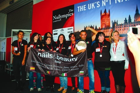 <p>The Team Trophy went to Nails & Beauty Italia 1 with 2,110 points.</p>