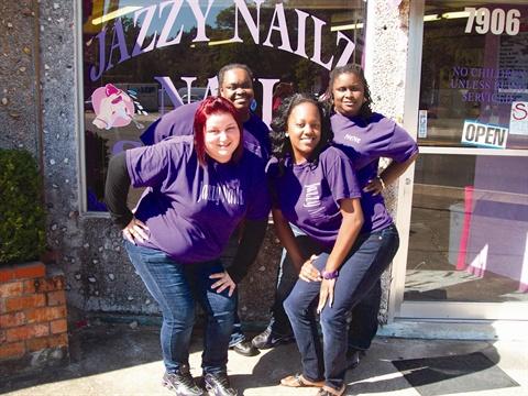 The Jazzy Nailz Team