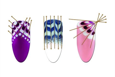 Pretty As A Peacock Technique Nails Magazine