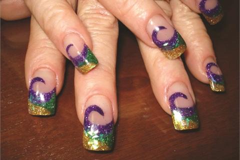 How To Create Nail Art Using Eye Kandy Glitter Cosmetics Style