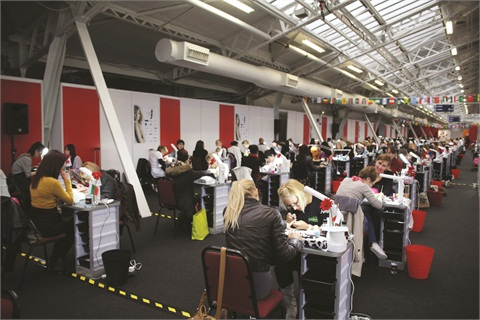 <p>Competition was fierce at the 2012 Nailympics London.</p>