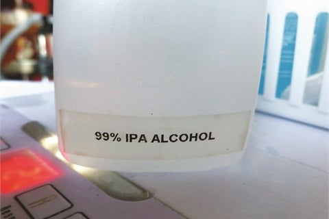 <p>Generic containers must be labeled.</p>