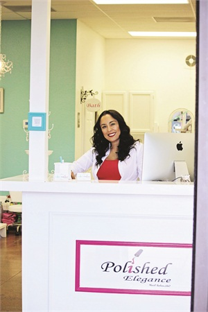 <p>Cristy Hill sets her salon apart with quality nail services and customer service excellence. </p>