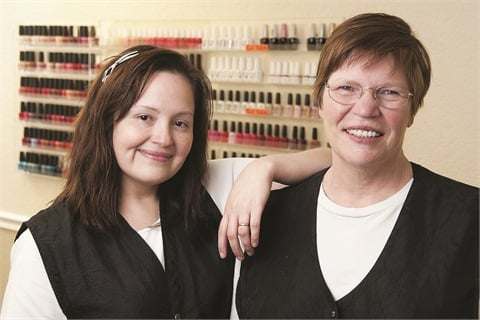 Not being able to offer acrylics hasn't stopped this mother- and daughter-in-law duo from running and expanding a successful salon and day spa.