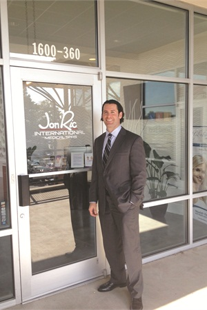 <p>Dr. Matt Jones owns the Charlotte, N.C., location of the Jon Ric International Medical Spas franchise. While this location has only been open for a few months, the medi spas have been in the industry for more than 26 years</p>