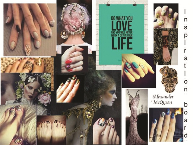 <p>Inspiration board by Roxana Tanase</p>