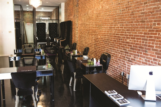<p>Many of Bed of Nails Nail Bar's clients choose the salon because it does not use acrylics. Clients constantly praise Idehen for the lack of odor in her salon.</p>