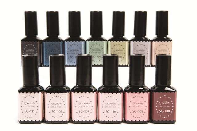 The Sand Collection From Presto Color Gel Made By Nail Labo Features A Set Of Fall Shades With Textured Finish 13 Colors Is To