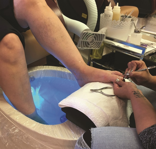 <p>To comply the 2015 IMC, New Jersey salon Nail Sketch installed source-capture systems at each station, including pedicure stations, that vent to the outside.</p>