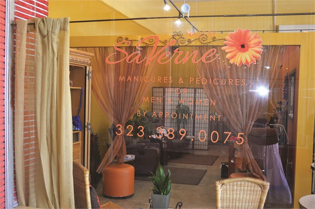 <p>Smith's salon shares a building with other beauty businesses that refer clients to one another and throw events together.</p>