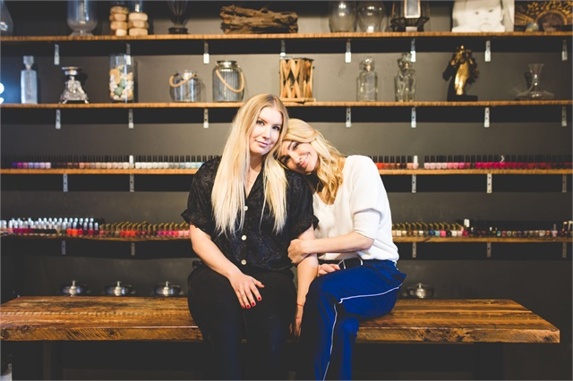 Owners Lauren Hunter and Manda Mason grew up working in their dad's grocery store, and always knew they wanted to own a family business.