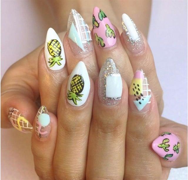 <p>Nails by Nicole Pyon</p>