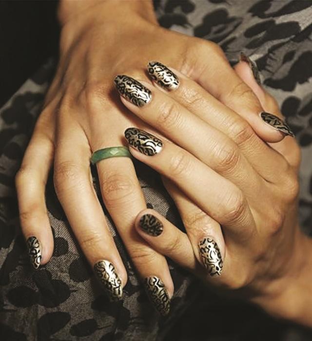 <p>Nails courtesy of Essie</p>