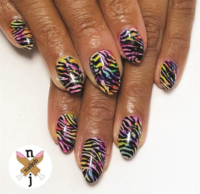 <p>Nails by Fariha Ali @nailjob</p>