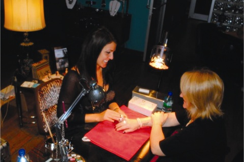 <p>Hall-Williams enjoys seeing clients personally and still calls nails her passion after almost 15 years in the industry.</p>