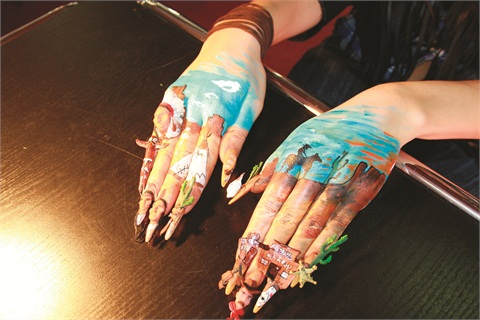 ... the Wild West: Nail Art Competition Winners - Style - NAILS Magazine
