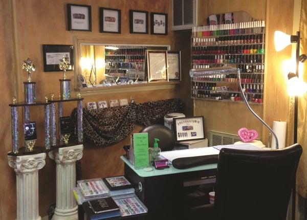 <p>Ryoko's workstation</p>