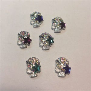 <p>4. Designer Nail Supply: 3-D skulls</p>