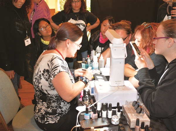 <p>There were plenty of classes and demos to keep attendees busy.</p>
