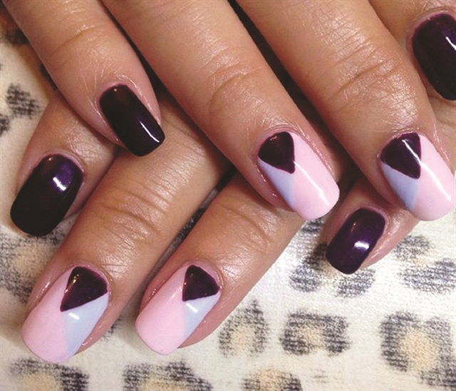 A natural nail specialist, Allykhan likes to coax clients out of their comfort zone with nail art.