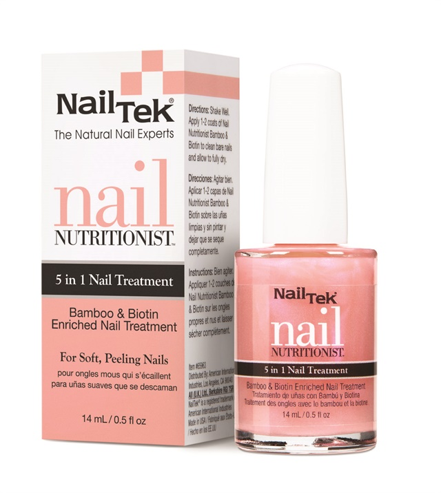 Grow Long and Strong Nails With Nail Tek\'s Bamboo and Biotin ...