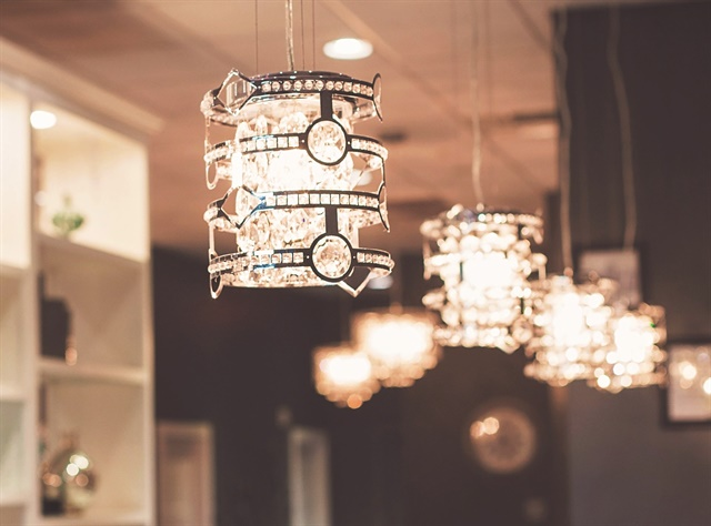 "<p>""It's very pretty here. We have glass chandeliers and it's not a traditional nail salon. So that sets us apart,"" salon owner Canada Lytle says.</p>"