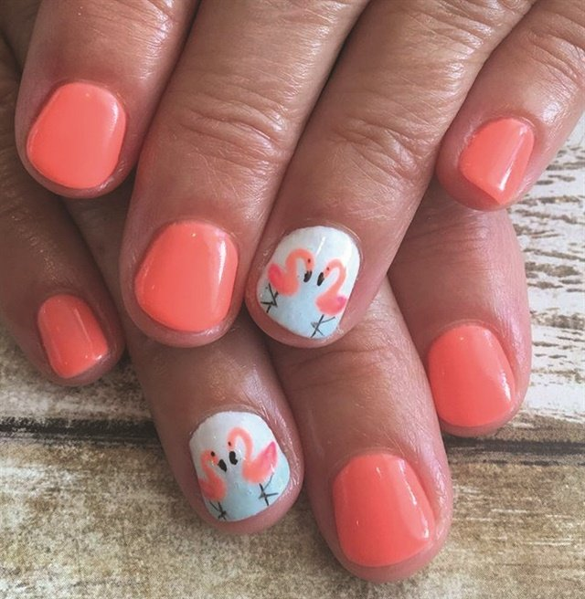 20 Ring Finger Accent Nails For Valentine's Day