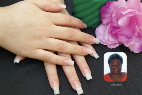 Madelyn Johnson Has Been A Licensed Nail Tech For 22 Years Presently Servicing Clients At New Again Spa Boutique In Houston