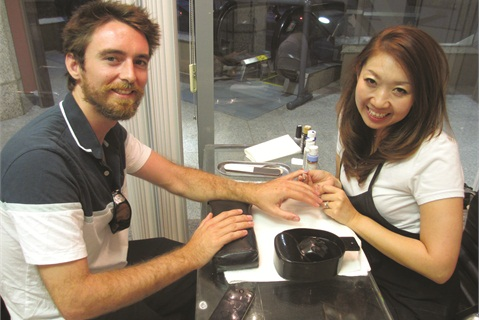 <p>Owner Anri Bui received her nail education in both Hawaii and her native Yokohama, Japan.</p>