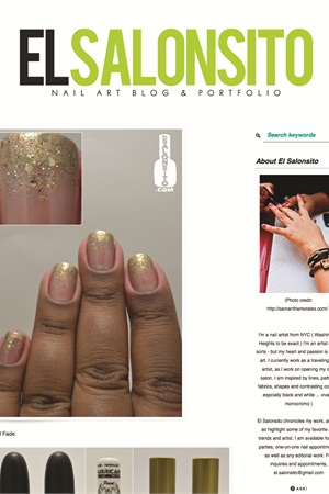 Websites Worth Watching El Salonsito Nail Art Blog Style Nails