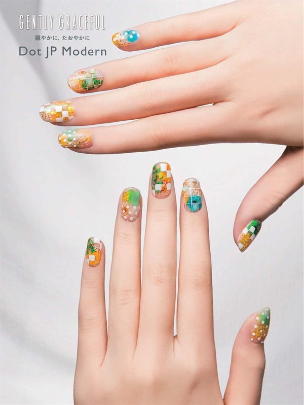 <p>The Modern Dot expresses the grace and beauty of Japan.</p>