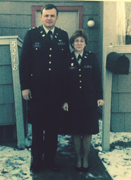 <p>McClain's parents both served in the military.</p>